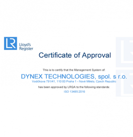 DYNEX  TECHNOLOGIES  ISO  13485:2016